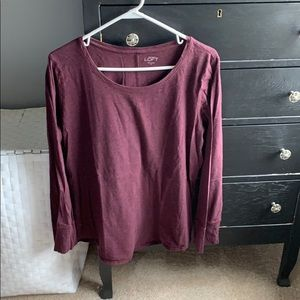 LOFT Tops - Long sleeve tee